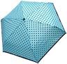 Зонт компактный механика Doppler 70865D голубой