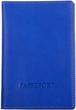 Кожаная обложка для паспорта Katana k988056 синий